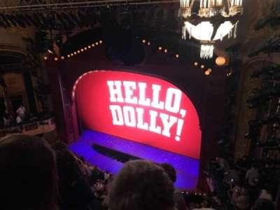 Shubert Theatre, vak: Balcony, rij: D, stoel: 18