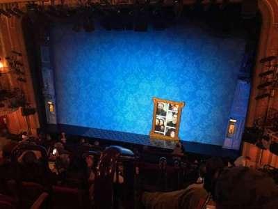 Walter Kerr Theatre, vak: Mezzanine, rij: F, stoel: 2