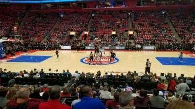 Little Caesars Arena, vak: 109, rij: 12, stoel: 5