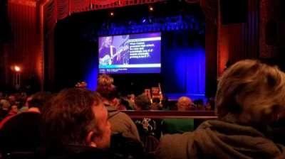 Royal Oak Music Theater, vak: B Right, rij: C, stoel: 29