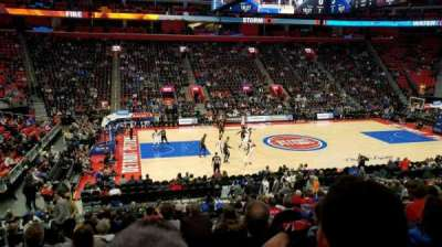 Little Caesars Arena, vak: 111, rij: 19, stoel: 14