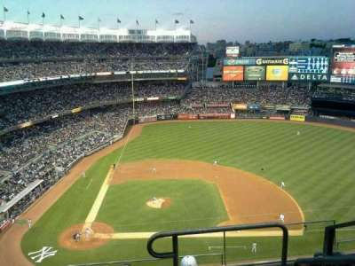 Yankee Stadium, vak: 417, rij: 5, stoel: 1
