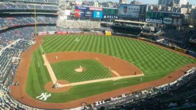 Yankee Stadium, vak: 419, rij: 1, stoel: 1