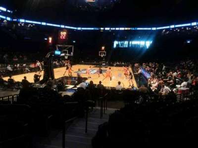 Barclays Center, vak: 15, rij: 13