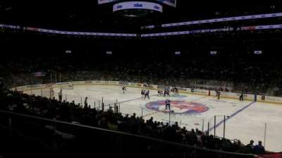 Barclays Center, vak: 20, rij: 19