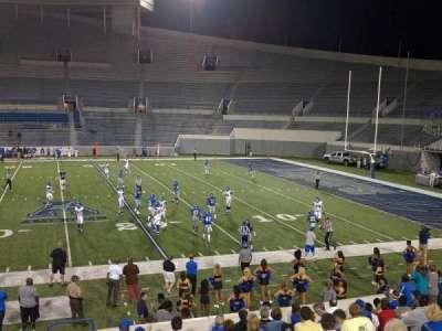 Liberty Bowl Memorial Stadium, vak: 103, rij: 20, stoel: 10