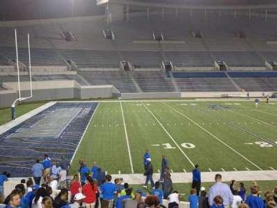 Liberty Bowl Memorial Stadium, vak: 108, rij: 20, stoel: 01