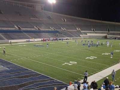 Liberty Bowl Memorial Stadium, vak: 110, rij: 20, stoel: 01