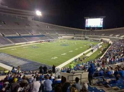 Liberty Bowl Memorial Stadium, vak: 110, rij: 50, stoel: 10