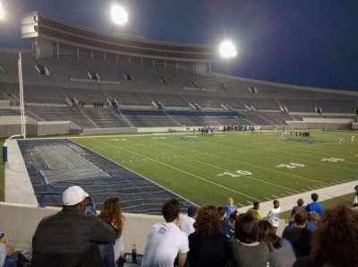 Liberty Bowl Memorial Stadium, vak: 111, rij: 50, stoel: 10