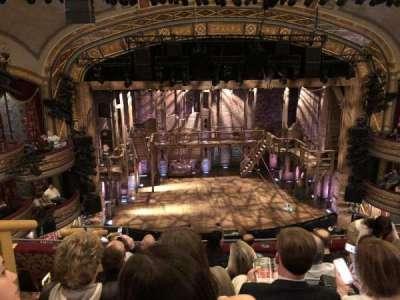Richard Rodgers Theatre, vak: F Mezz, rij: F, stoel: 114