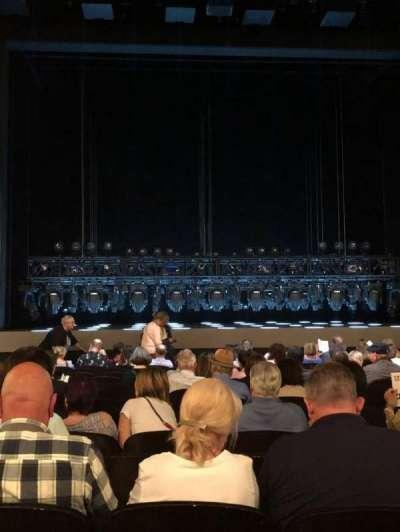 Lunt-Fontanne Theatre, vak: Orch, rij: Q, stoel: 104