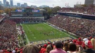 Bobby Dodd Stadium, vak: 219, rij: 42, stoel: 16