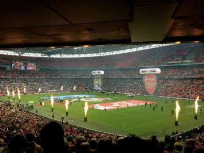 Wembley Stadium, vak: 139, rij: 43, stoel: 148