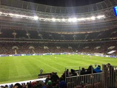 Luzhniki Stadium, vak: A107, rij: 17, stoel: 2