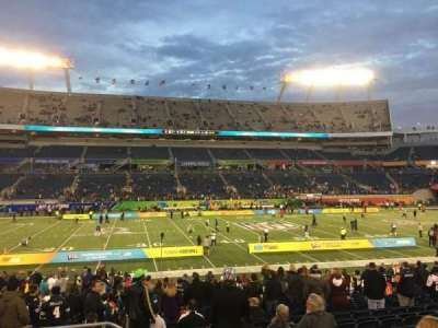 Camping World Stadium, vak: 135, rij: U, stoel: 26