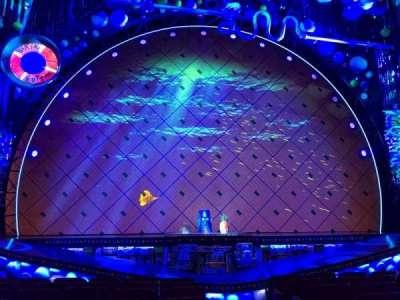 Palace Theatre (Broadway), vak: ORCC, rij: J, stoel: 101 And 10
