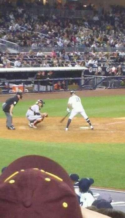 Yankee Stadium, vak: 116, rij: 11, stoel: 10