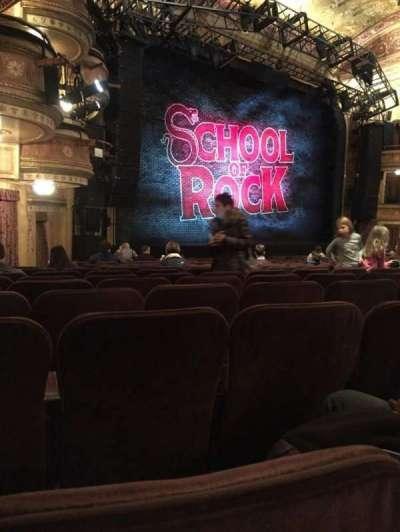 Winter Garden Theatre, vak: Orchestra, rij: Q, stoel: 33