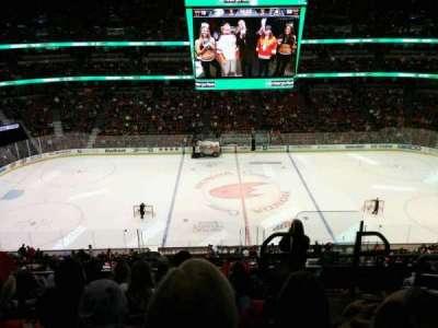 Honda Center, vak: 412, rij: H, stoel: 2
