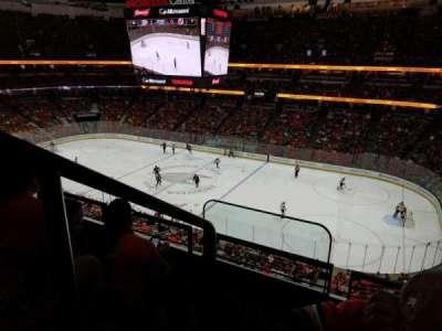 Honda Center, vak: 408, rij: C, stoel: 16
