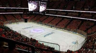 Honda Center, vak: 406, rij: C, stoel: 16