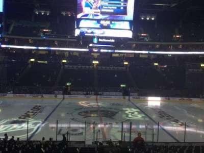 Nationwide Arena, vak: 115, rij: U, stoel: 3