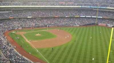 Yankee Stadium, vak: 408, rij: 10, stoel: 18