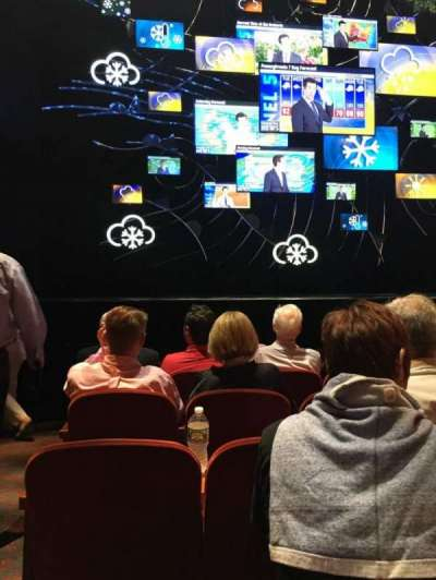 August Wilson Theatre, vak: Orch C, rij: F, stoel: 114