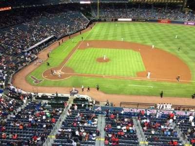 Turner Field, vak: 409R, rij: 1, stoel: 13