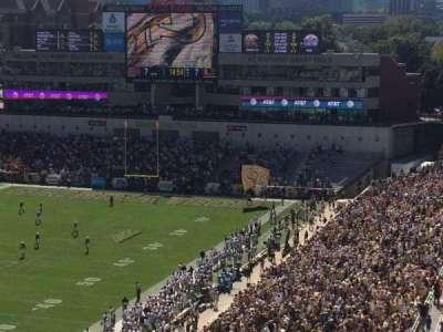 Bobby Dodd Stadium, vak: 210, rij: 17, stoel: 14