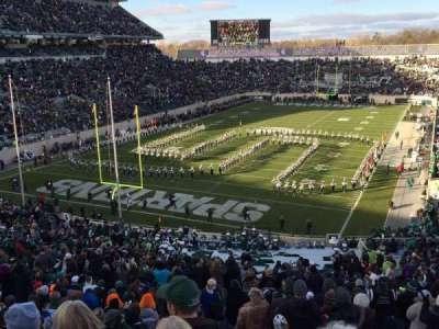 Spartan Stadium, vak: 14, rij: 56, stoel: 24