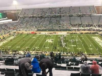 Spartan Stadium, vak: 123, rij: 28, stoel: 10