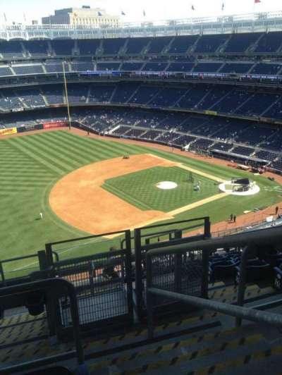 Yankee Stadium, vak: 428, rij: 9, stoel: 1