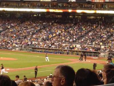 PNC Park, vak: 129, rij: AA, stoel: 4