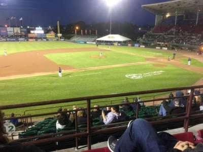 McCoy Stadium, vak: 12, rij: CC, stoel: 14