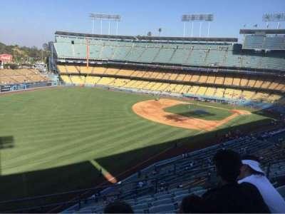Dodger Stadium, vak: 47RS, rij: H, stoel: 9