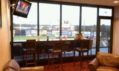TD Bank Ballpark, vak: Suite 301, rij: B, stoel: 1