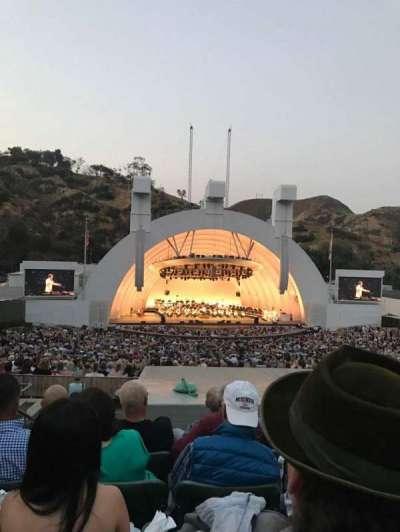 Hollywood Bowl, vak: J1, rij: 9, stoel: 4