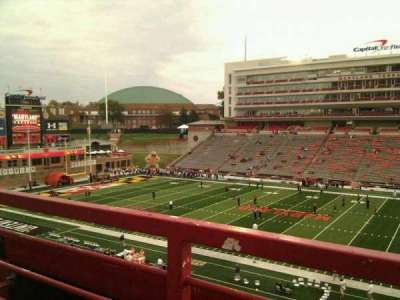 Maryland Stadium, vak: 207, rij: a, stoel: 17