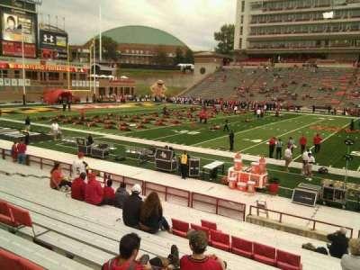 Maryland Stadium, vak: 5, rij: t, stoel: 29