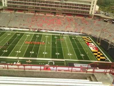 Maryland Stadium, vak: 307, rij: p, stoel: 17