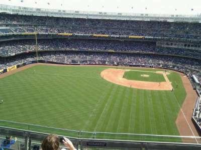Yankee Stadium, vak: 434b, rij: 5, stoel: 6