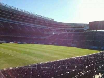 Soldier Field, vak: 142, rij: 13, stoel: 8
