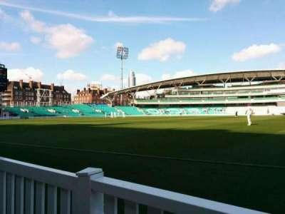 Kia Oval, vak: Pavilion Terrace, rij: a, stoel: 25
