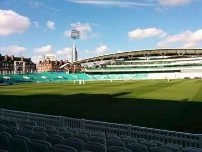 Kia Oval, vak: Pavilion Terrace, rij: h, stoel: 37
