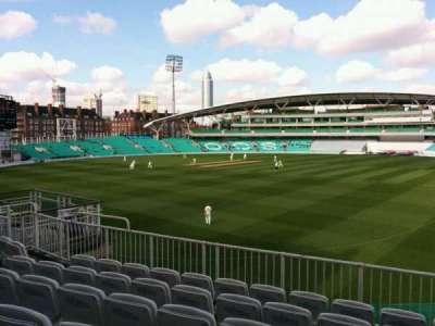 Kia Oval, vak: middle pavilion, rij: f, stoel: 18