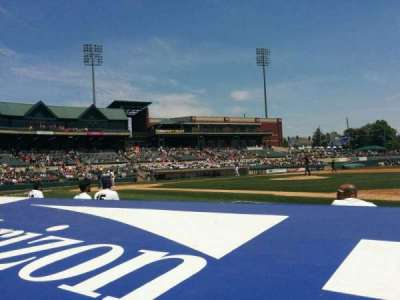 TD Bank Ballpark, vak: 115, rij: c, stoel: 4