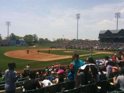 TD Bank Ballpark, vak: 218, rij: o, stoel: 11