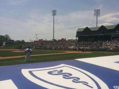 TD Bank Ballpark, vak: 116, rij: c, stoel: 3